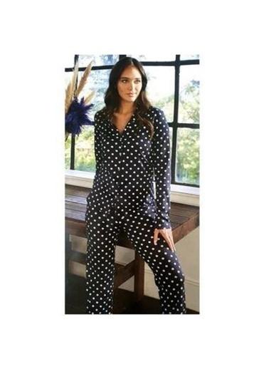 Eros Pijama Takım Siyah